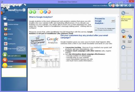 Sendblaster Free Edition Screenshot5