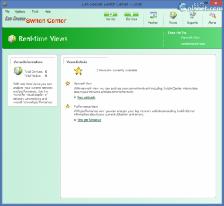 Lan-Secure Switch Center Screenshot3