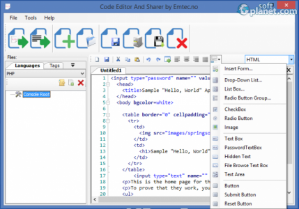 Code Editor And Sharer Screenshot2
