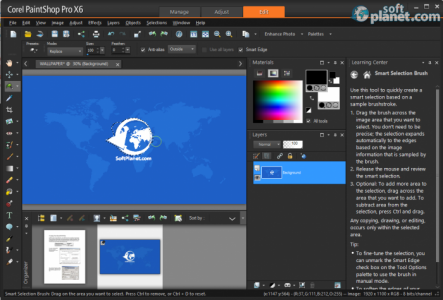 Corel PaintShop Pro Screenshot5