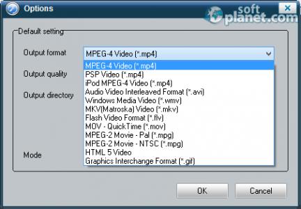 ThunderSoft Flash to Video Converter Screenshot3