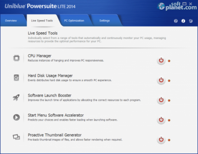 Uniblue PowerSuite Lite 2014 Screenshot2