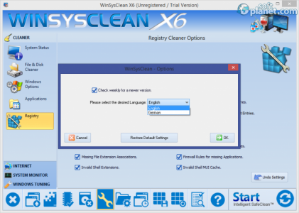 WinSysClean Screenshot5