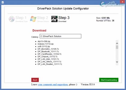 DriverPack Solution Screenshot3