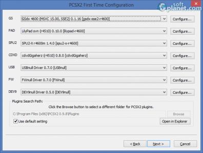 PlayStation 2 Emulator Screenshot2