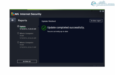 AVG Internet Security Screenshot2