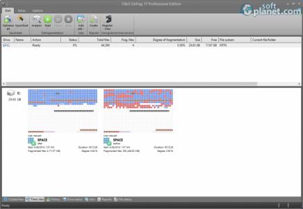 O&O Defrag Professional Edition Screenshot3