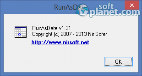 RunAsDate Screenshot2