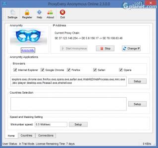 ProxyEvery Anonymous Online Screenshot2