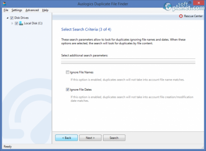 Auslogics Duplicate File Finder Screenshot3