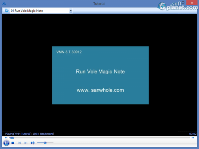 Vole Magic Note Screenshot3