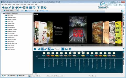 Collectorz.com Book Collector Screenshot3