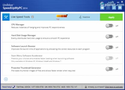 SpeedUpMyPC 2014 Screenshot3