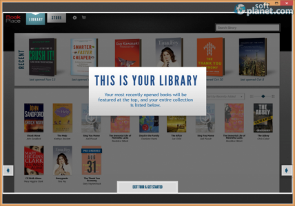 Toshiba Book Place Screenshot3
