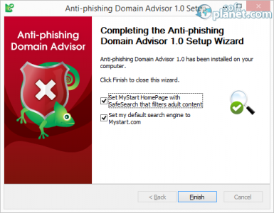 Anti-phishing Domain Advisor Screenshot3