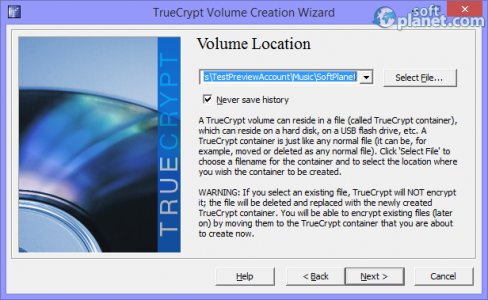 TrueCrypt Screenshot3