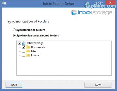 Inbox Storage Screenshot5