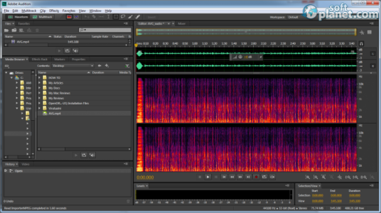 Adobe Audition CC Screenshot2