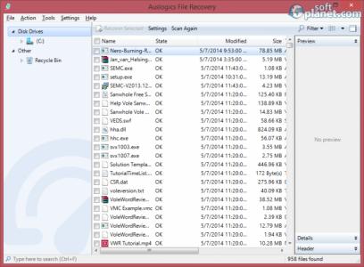 Auslogics File Recovery Screenshot3