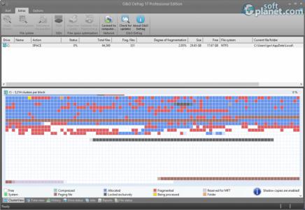 O&O Defrag Professional Edition Screenshot2
