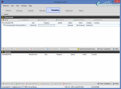 Gnutella Turbo Screenshot4