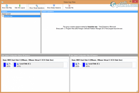 Paragon Partition Magic 2013 Free Screenshot2