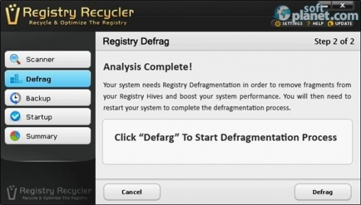 Registry Recycler Screenshot3