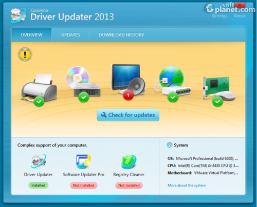 Carambis Driver Updater Screenshot3