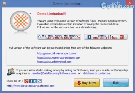 Memory Card Recovery Software Screenshot3