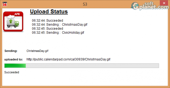 Web Calendar Pad Screenshot4
