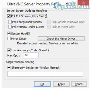 UltraVNC Screenshot2