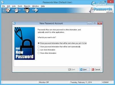 Passwords Max Screenshot4