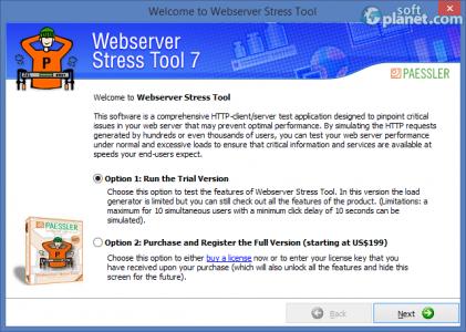 Webserver Stress Tool Screenshot2