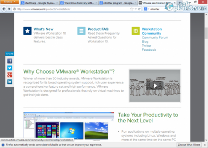 VMware Workstation Screenshot4