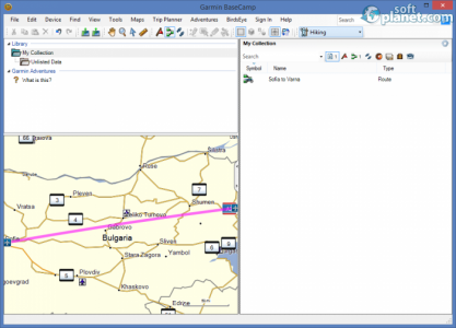 Garmin BaseCamp Screenshot5