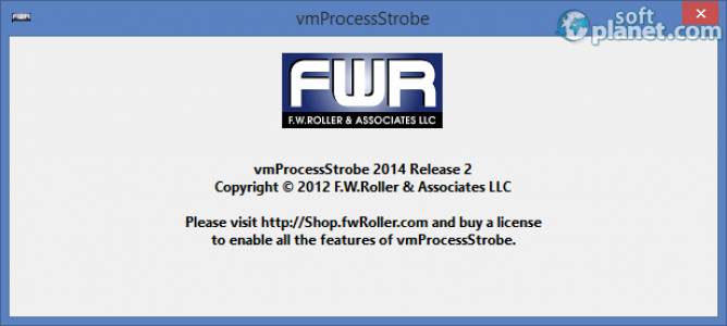 vmProcessStrobe Screenshot2