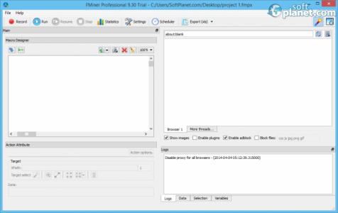 FMiner Professional Screenshot2