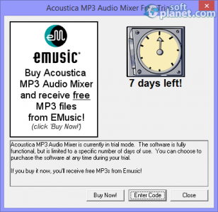 Acoustica MP3 Audio Mixer Screenshot4