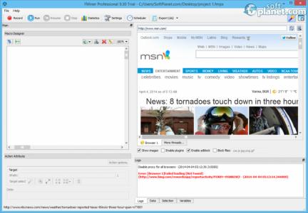 FMiner Professional Screenshot3