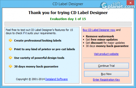 CD Label Designer Screenshot2