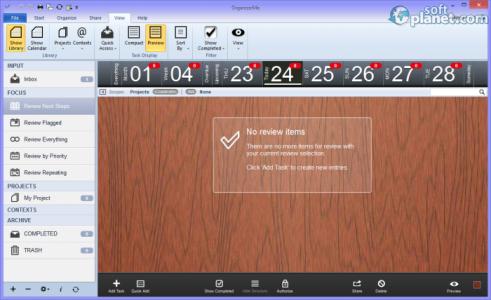 Portable Organize:Me Screenshot2