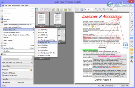 Multi-Page TIFF Editor Screenshot2