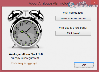 Analogue Alarm Clock Screenshot4