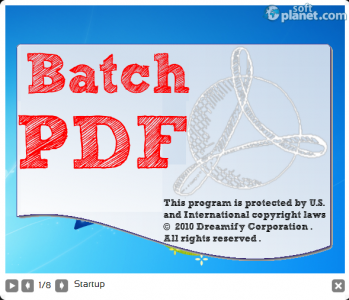 Batch PDF Pro Screenshot2