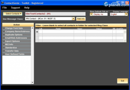 ContactGenie Toolkit Screenshot4