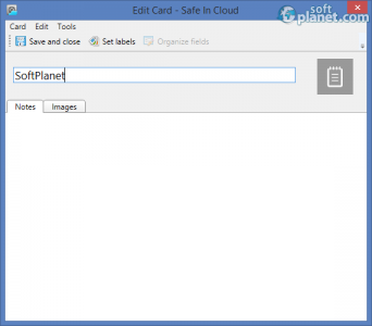 Safe In Cloud Screenshot3