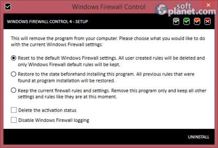 Windows Firewall Control Screenshot3