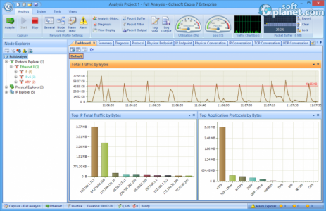 Colasoft Capsa Enterprise Screenshot2