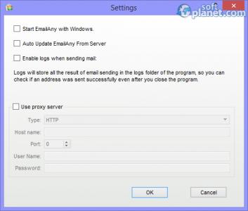 EmailAny Sender Screenshot2