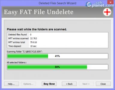 Easy FAT File Undelete Screenshot2